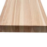 Мебельный щит из лиственницы (Цельный) 20мм