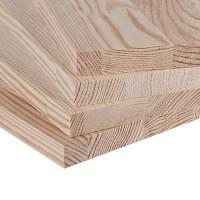 Мебельный щит из лиственницы (Срощенный) 20мм