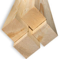 Обрезной брус из лиственницы 100мм I сорт