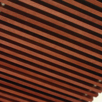 Декоративная рейка из карагача 20мм