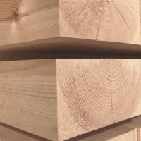 Строганный брус из лиственницы 200мм I сорт